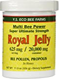 YS Royal Jelly/Honey Bee - R.J.+B.P.Propol/, 20000 mg, 11.5 oz gel