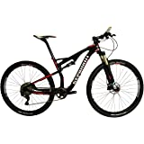 Stradalli 29er Red Edition Full Carbon Fiber Dual Suspension Cross Country XC Mountain Bike. Shimano XT M8000 11 Speed. X Fusion Suspension. Stans ZTR Crest Tubeless Ready Wheelset.
