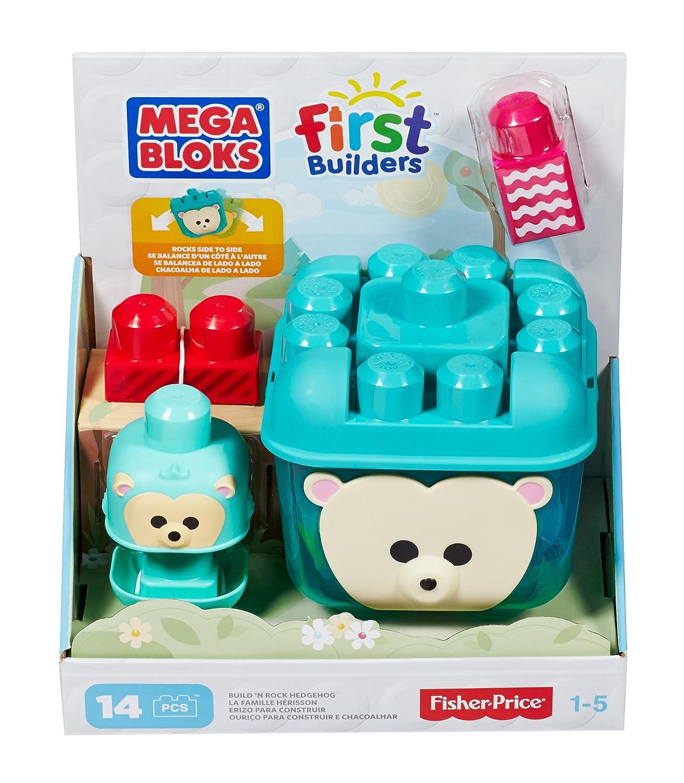 Mega Bloks First Builders Build 'n Giggle Discoveries Hedgehog Building Set
