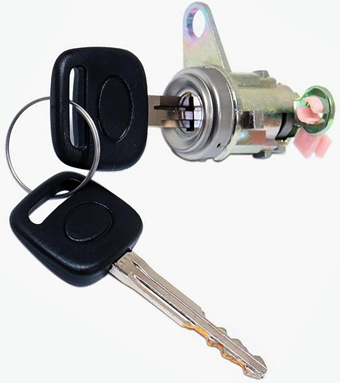 APDTY 140038 Door Lock Clyinder Fits Front Left 1996-2001 Toyota Rav4 4-Door (Replaces 69052-42050, 69052-42060)