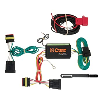 curt 56174 vehicle side custom 4 pin trailer wiring harness for select fiat 500 fiat 500 trailer wiring fiat trailer wiring #3