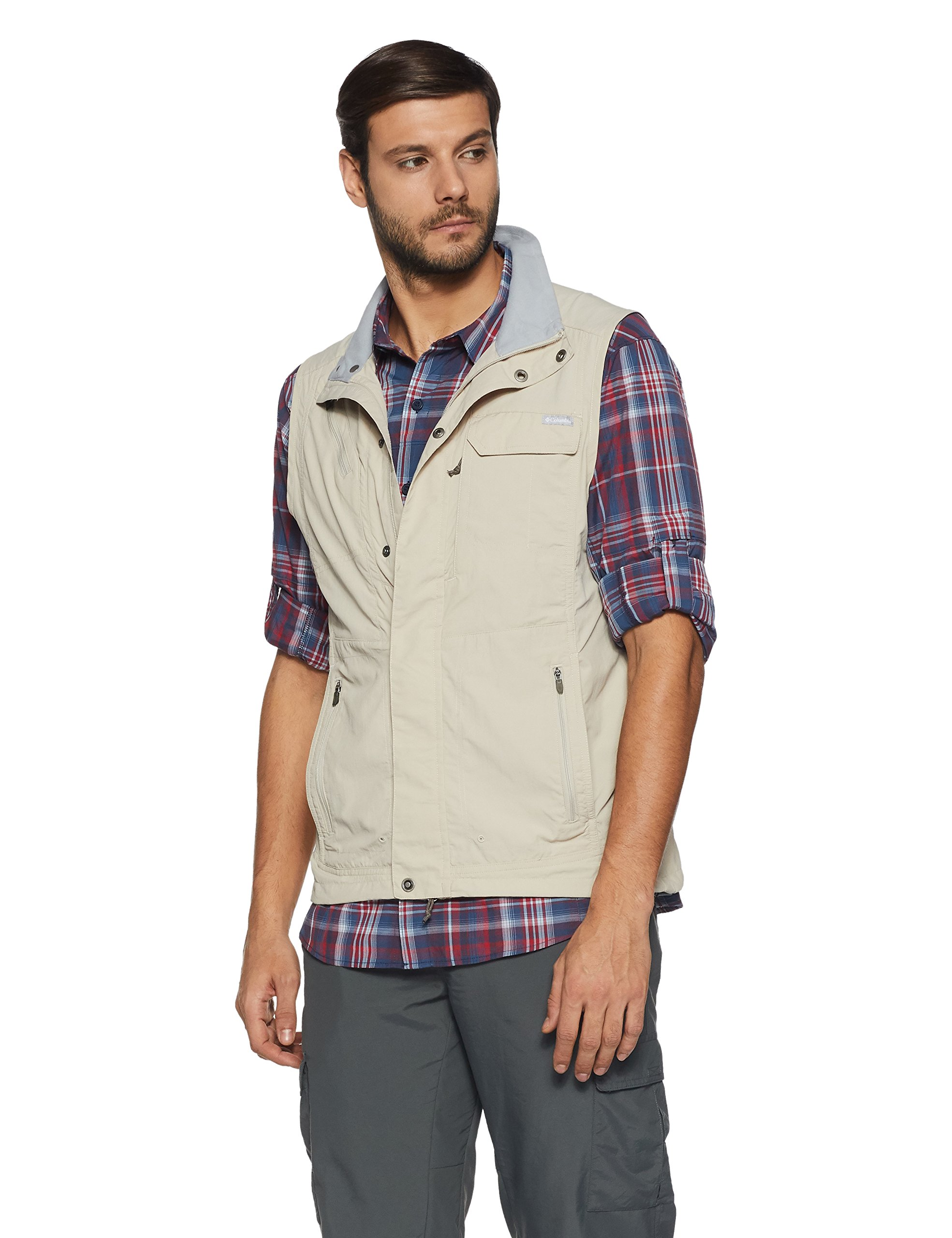 Columbia Silver Ridge Vest (Small, Fossil) by Columbia