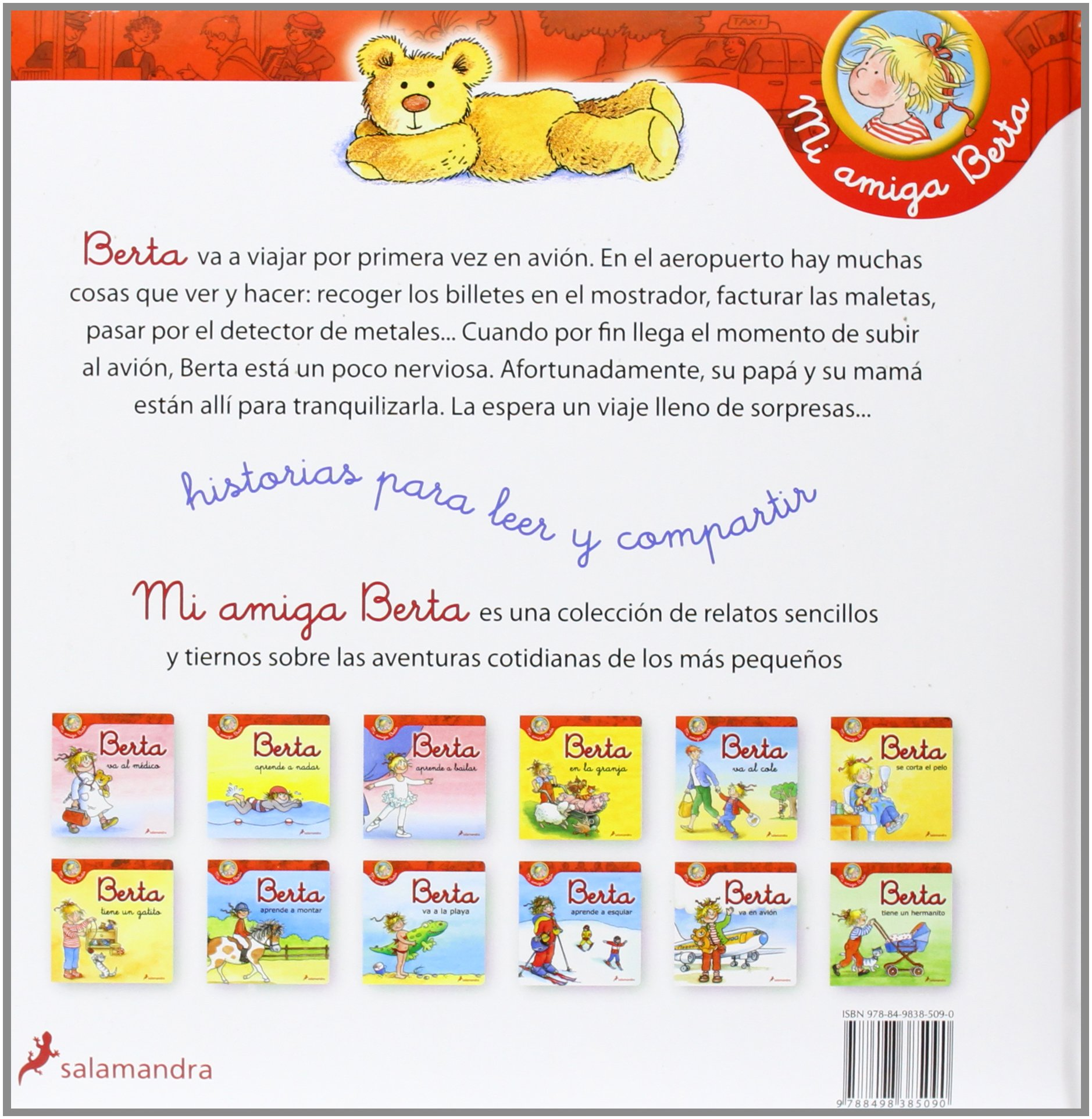 Berta va en avion (My Friend Berta) (Spanish Edition): Liane Schneider: 9788498385090: Amazon.com: Books