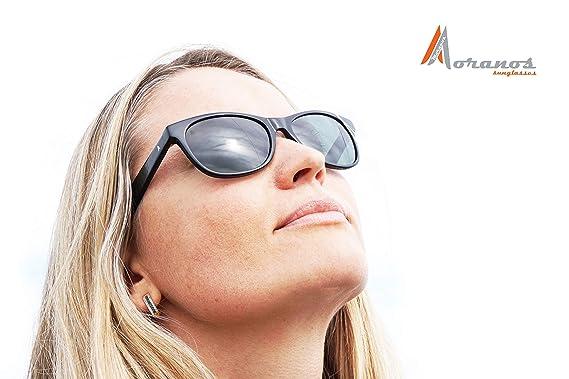 e6b667b2e83a Amazon.com  Moranos Sunglasses Polarized Classic Woman Men ...