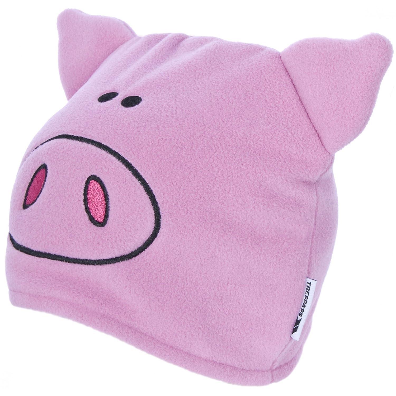 Trespass Childrens/Kids Oinky Pig Beanie Hat