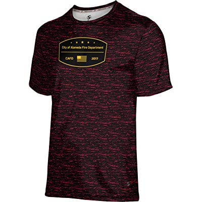 ProSphere Boys' City Of Alameda Fire Department Brushed Shirt (Apparel)