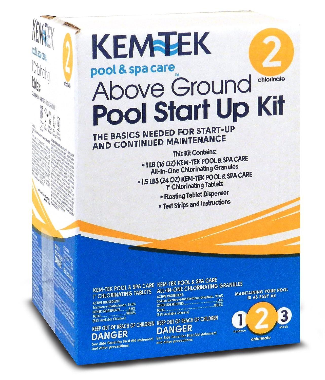 Kem-Tek 26219049063 Above Ground Pool Startup Kit