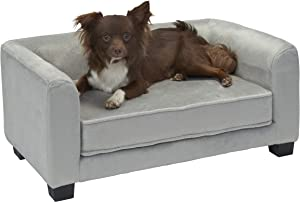 Enchanted Home Pet Surrey Pet Sofa - Grey, CO3429-20GRY