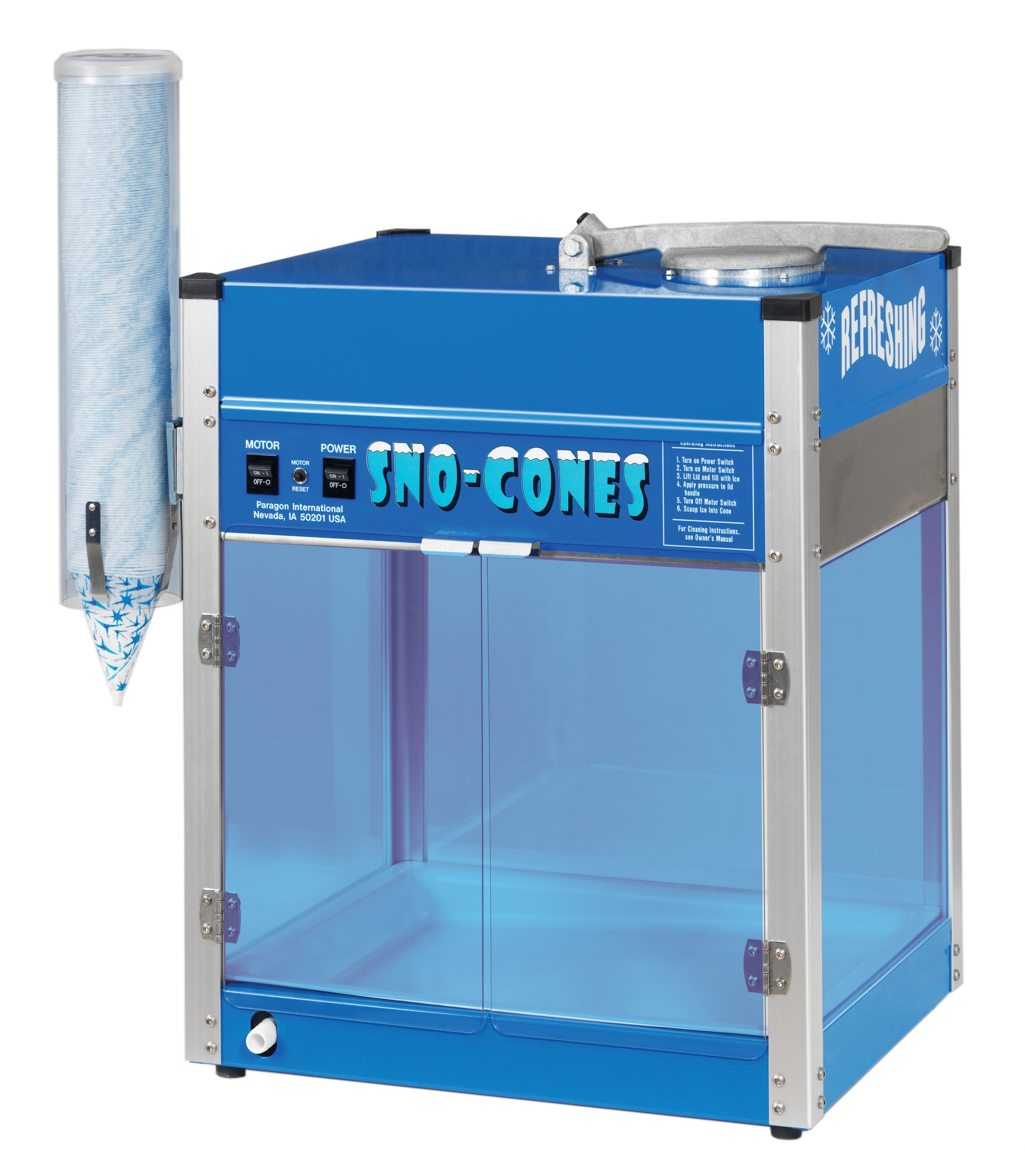 Paragon The Blizzard Snow Cone Machine by Paragon - Manufactured Fun