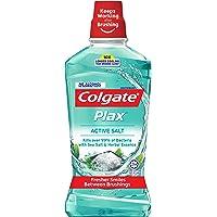 Colgate Plax Mouthwash, Herbal Salt, 1L