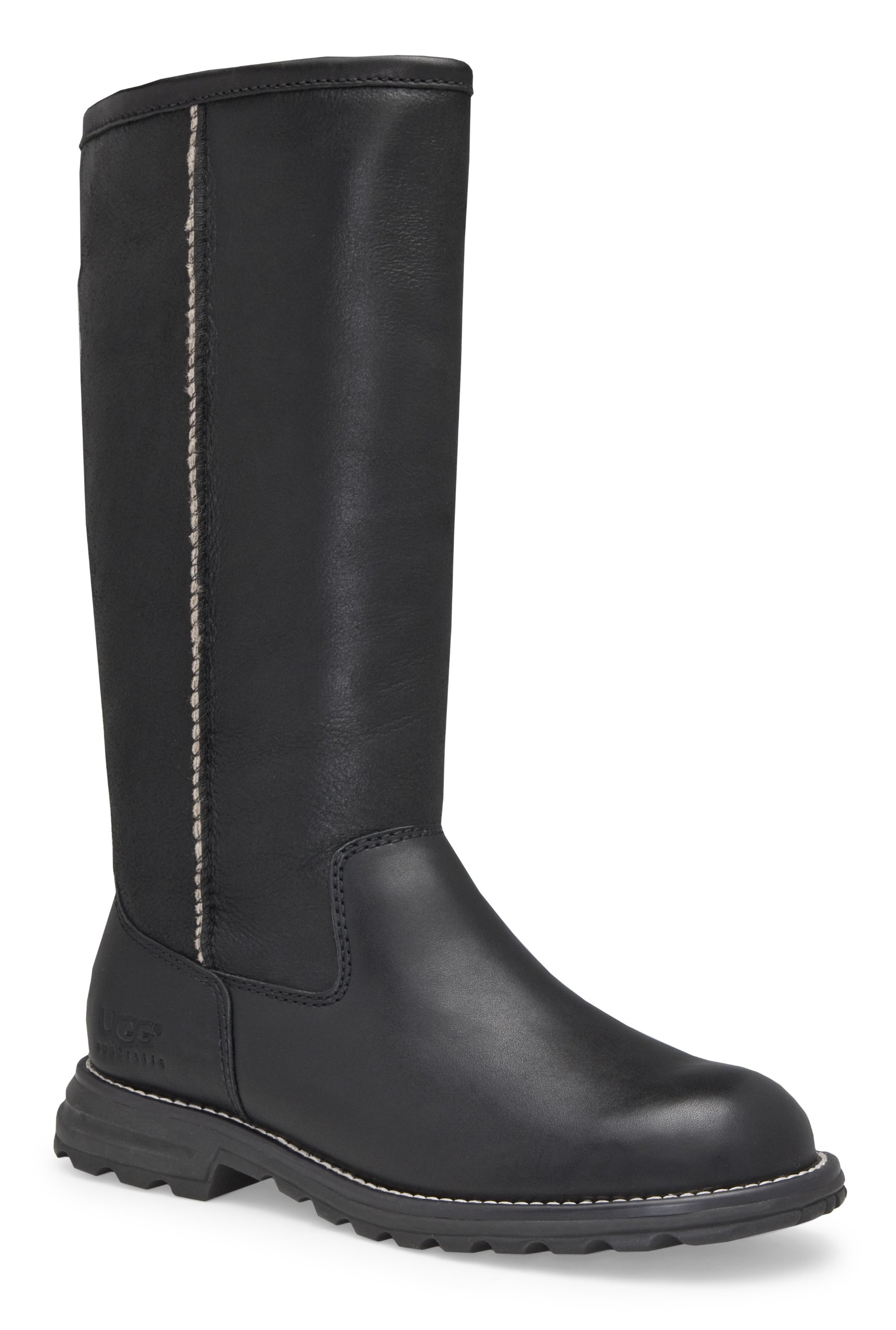 UGG Australia Womens Brooks Tall Boot Black Size 5
