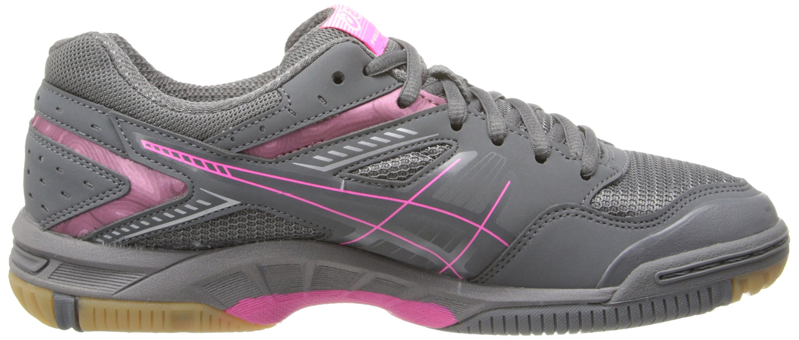 ASICS Women's Gel 1150V Volley Ball Shoe,Smoke/Knock Out Pink/Silver,8 M US by ASICS (Image #7)