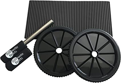 Abdominal Exercisers Fitness, Running & Yoga Esmk Ab Roller Wheel With Knee Pad