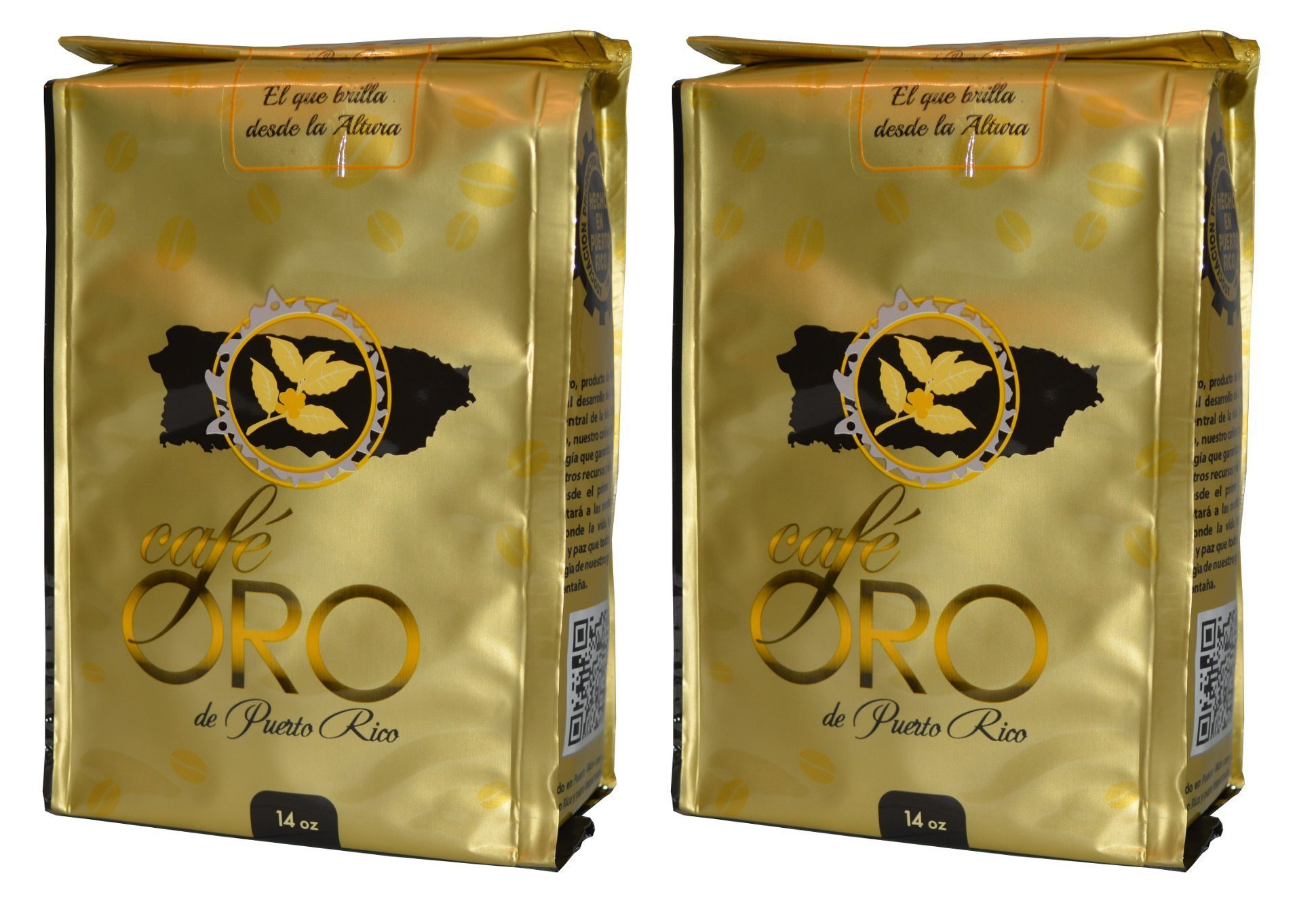 Cafe de Oro de Puerto Rico 14oz / Gold Coffee from Puerto Rico 14oz (2