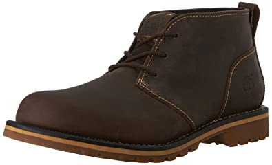Timberland Men's Grantly Chukka Boot, Dark Brown,