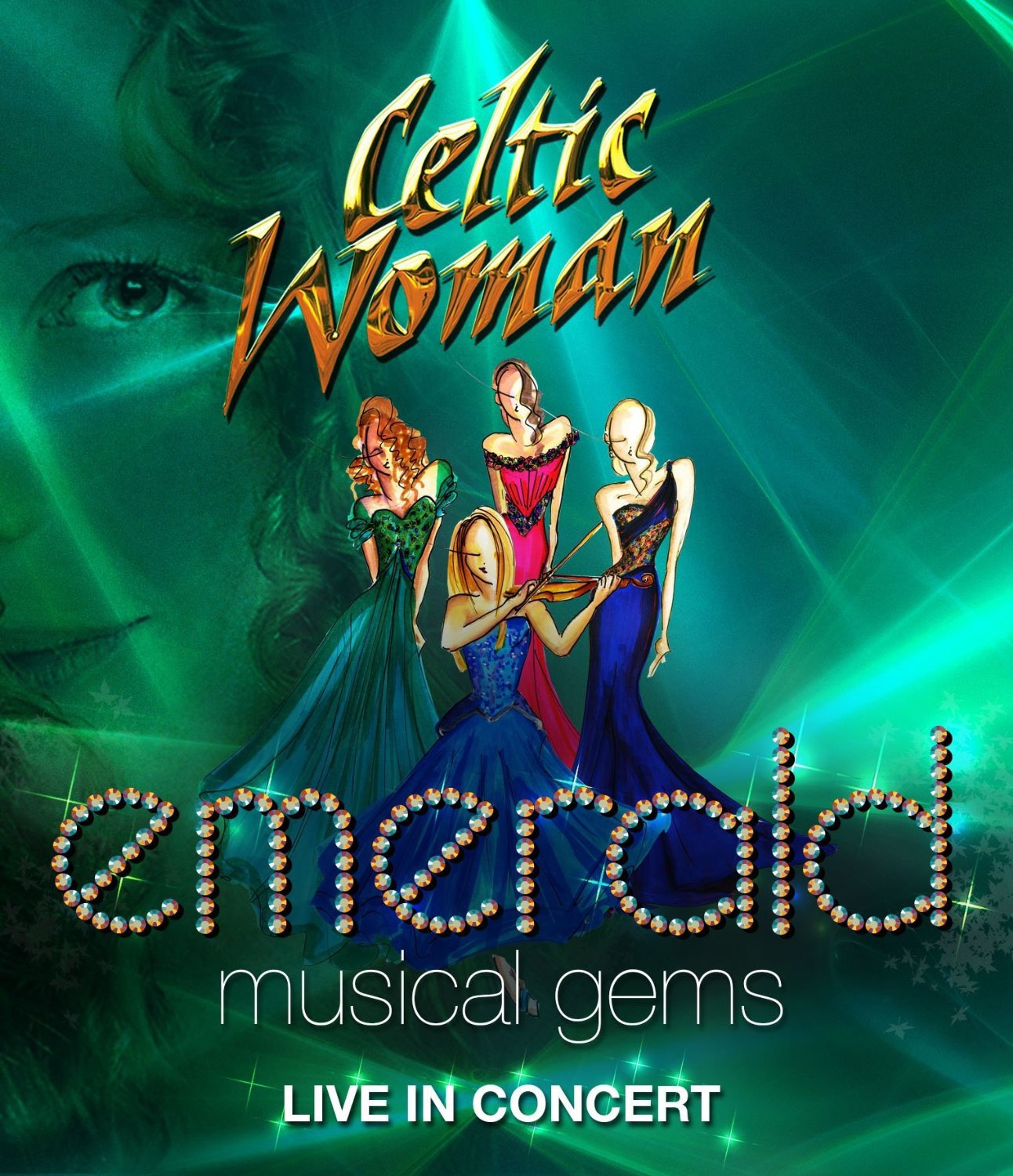 Blu-ray : Celtic Woman - Emerald: Musical Gems - Live in Concert