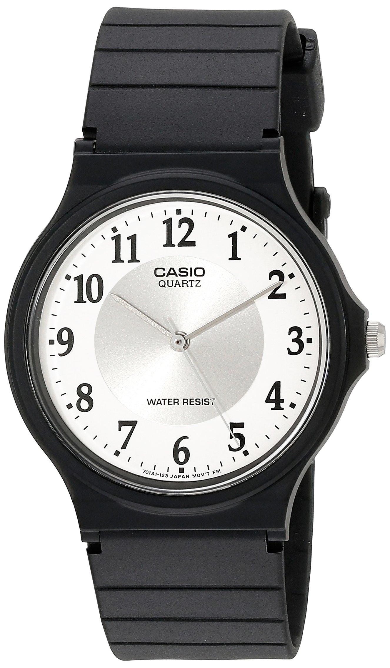 Casio Women's MQ24-7B3LL Classic Black Resin Band Watch