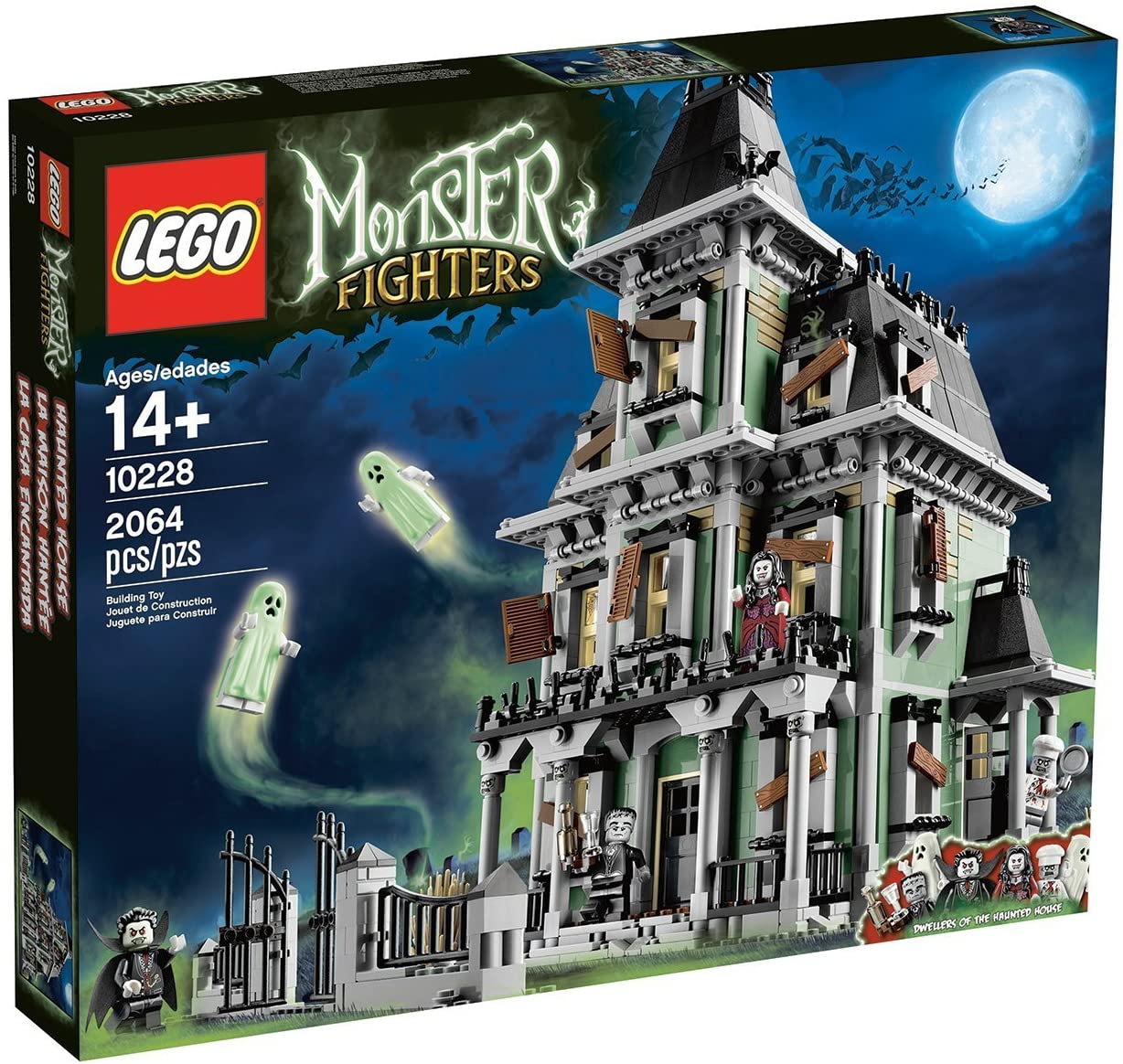 Amazon Com Lego Monster Fighters Haunted House Halloween
