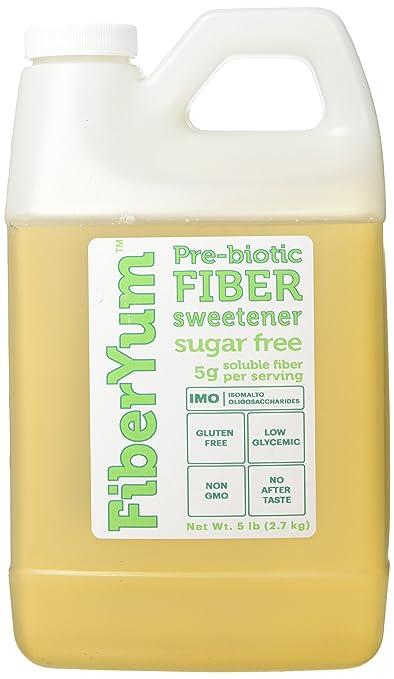 Amazon.com : Fiber Yum Non-GMO, Corn-Free, Pre-Biotic Fiber IMO ...