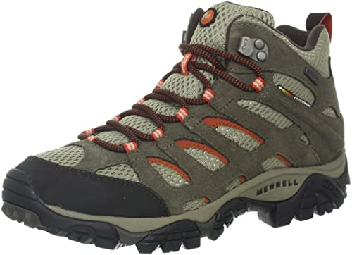 Merrell Women's Moab Mid Waterproof Hiking Boot,Bungee Cord,10.5 M US