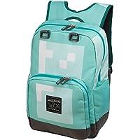 JINX Minecraft 18 Diamond Kids Backpack - Blue