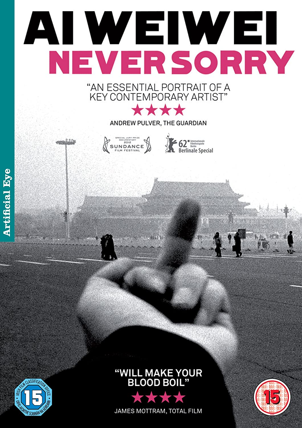 Ai Weiwei Never Sorry Dvd Badge Movies Tv