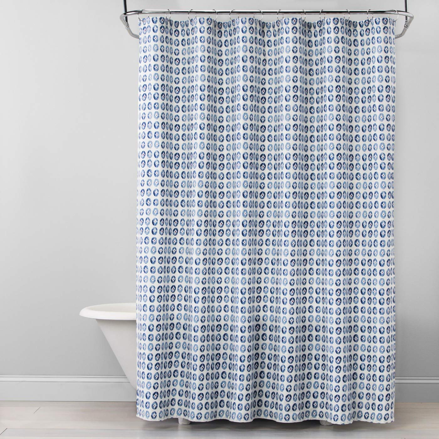 Amazon Opalhouse Coin Medallion Shower Curtain Ballad Blue Home Kitchen
