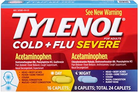 TYLENOL Cold + Flu Severe Day & Nigh…