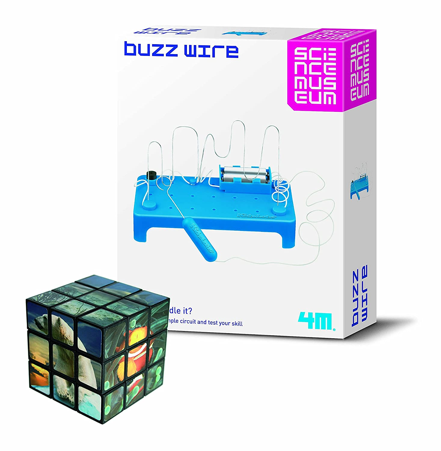 Number One Selling Creative Activity Girls Boys Fun Educational Nce Wiring Diagram Present Idea For Christmas Age 8 Science Museum Buzz Wire Electronics Game With Problem