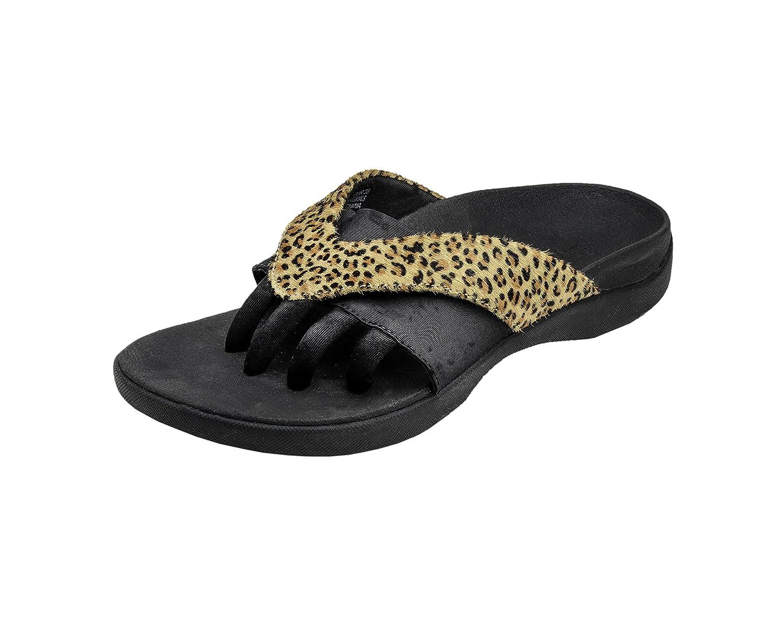 Wellrox Women's Evo-Grasp Casual Sandal B00DL9PR0A 9 B(M) US|Leopard