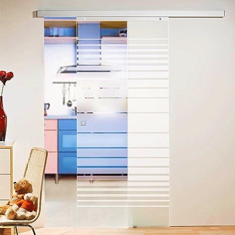 Porta scorrevole per porta scorrevole in vetro da porta, 880 x 2035 ...