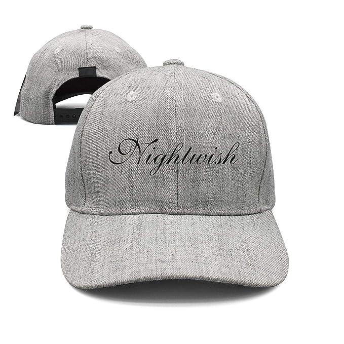 LiJinya Man Metal-Band-Nightwish-Schriftzug- Baseball Caps Snapback ... bb66aee77d2