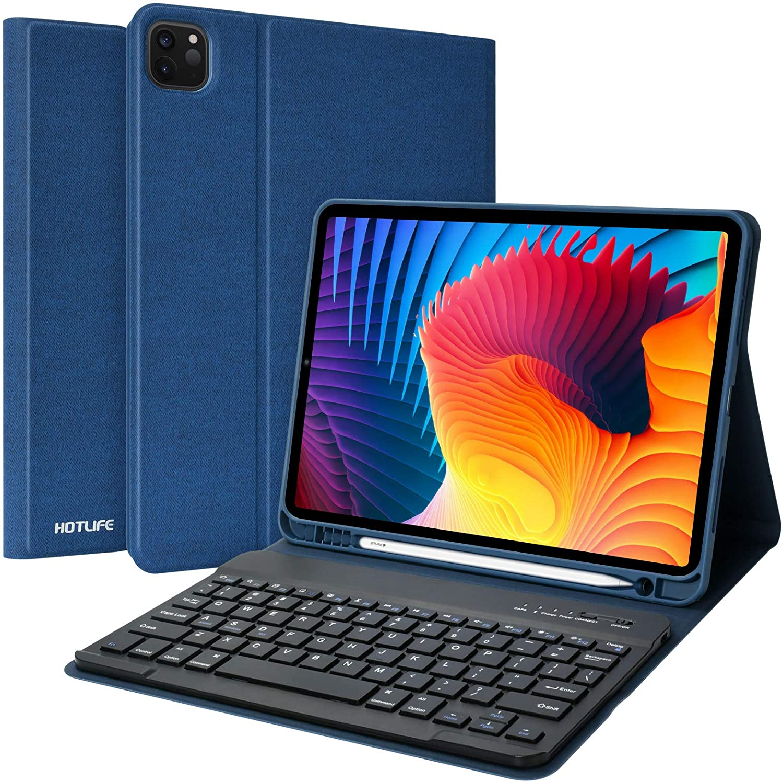 2021 iPad Pro 11 Case with Keyboard 2020/2018, Bluetooth Keyboard for iPad Pro 11