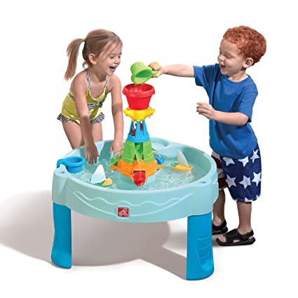 amazon com step2 water works water table toys games rh amazon com
