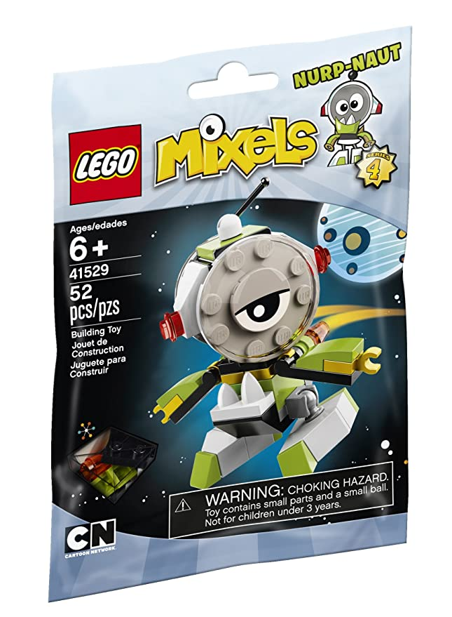 Cartoon Network Toy - Lego Mixels - Series 4 - Nurp-Naut - 52 Piece ...