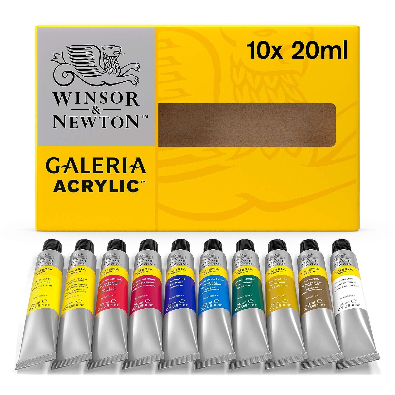 Winsor & Newton Galeria farba akrylowa, wysoka pigmentacja