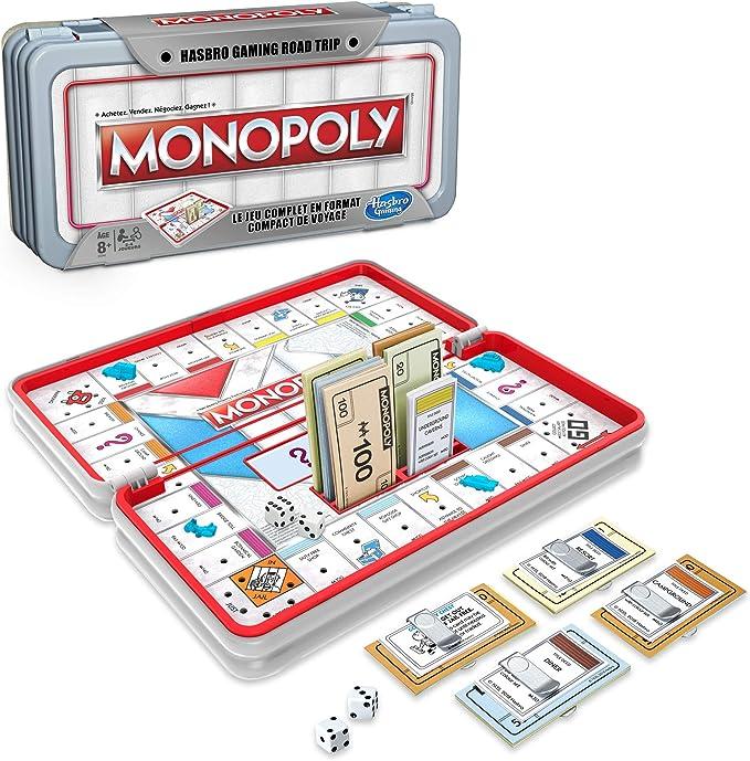 Monopoly Road Trip - Juego de Viaje (versión Francesa): Amazon.es: Juguetes y juegos