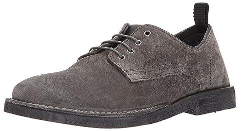18a36649fb3 Steve Madden Men's Lowman Oxford, Dark Grey Suede, 10.5 US/US Size ...