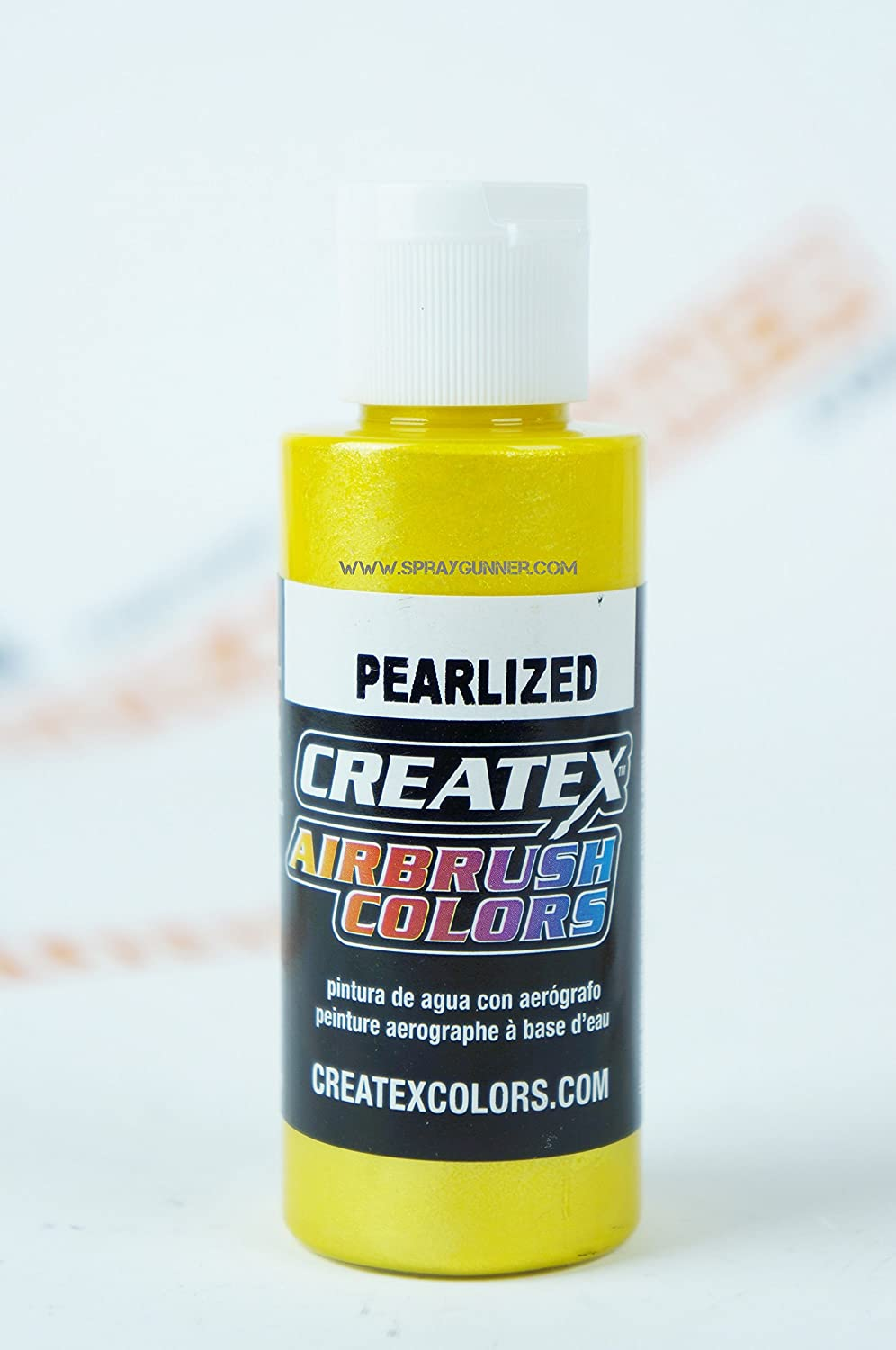 Airbrush Colors Createx Pearlized 5311 Pearl Pineapple 2oz. Paint. by SprayGunner Createx Colors