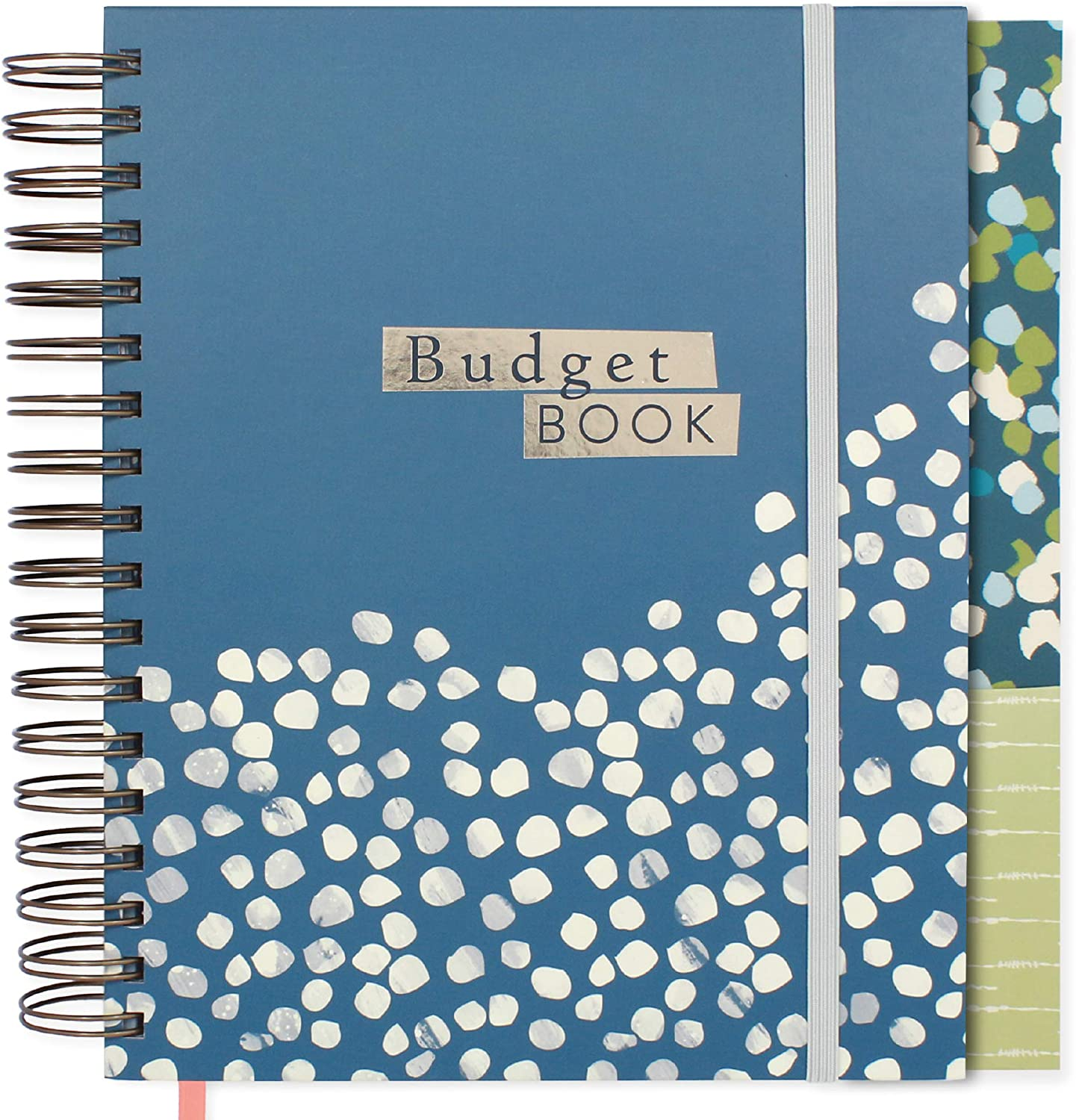 Boxclever Press Budget Planner. Undated Monthly Planner & Bill Organizer with Pockets, Expense and Bill Trackers. Undated Planner to start Budgeting & Saving today! Budget Book measures 9.5 x 8ins.
