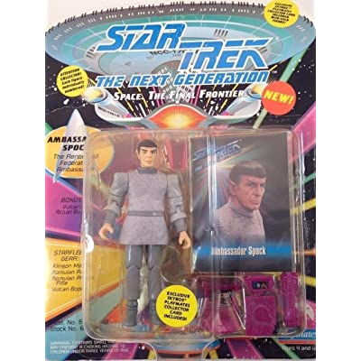 STAR TREK The Next Generation Ambassador Spock 4 inch Action Figure: Toys & Games