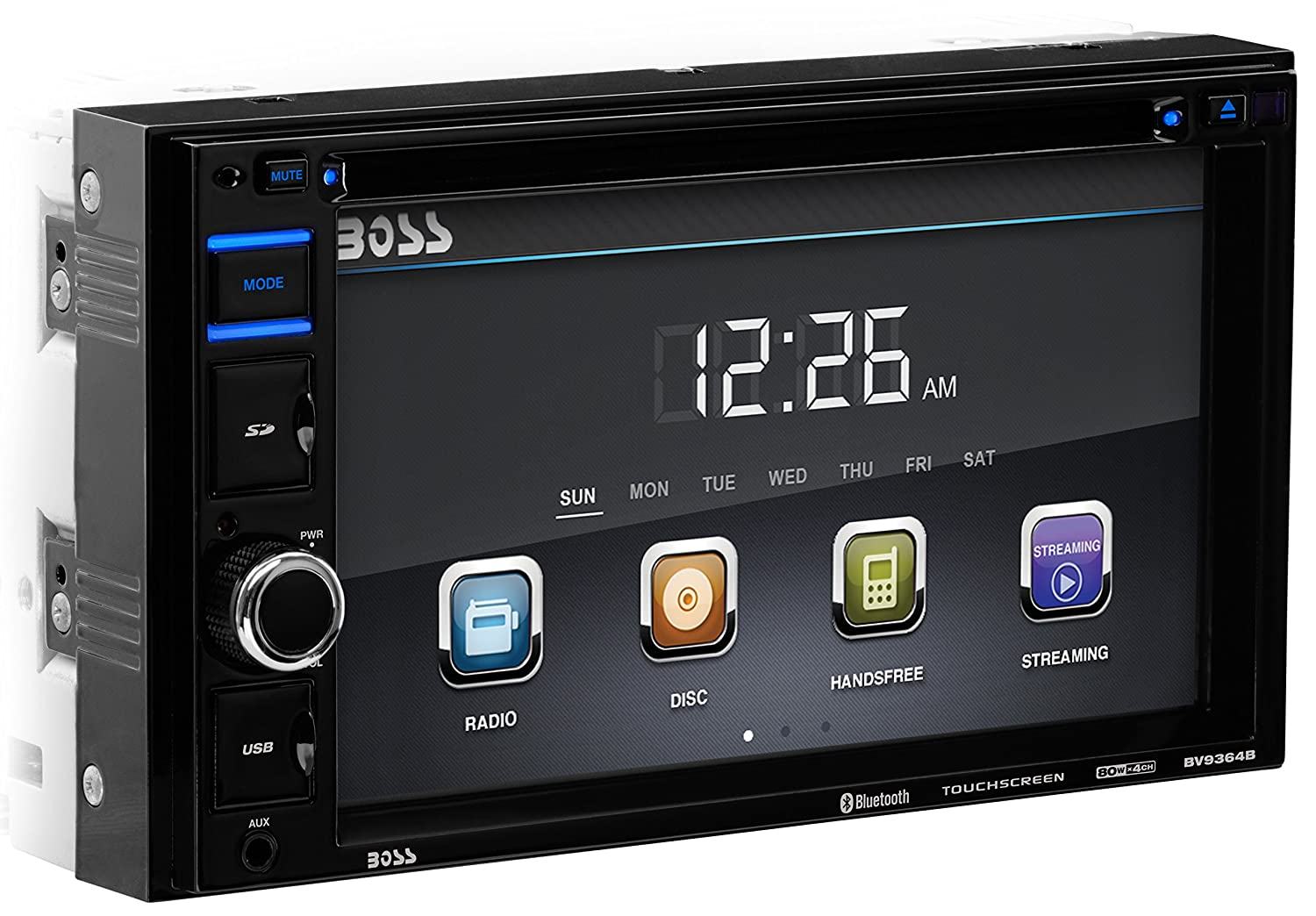 amazon com boss audio bv9364b car stereo dvd player double din
