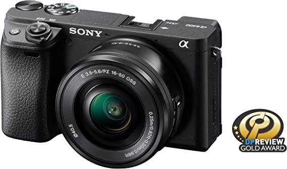 Sony Alpha a6400 Mirrorless Camera: Compact APS-C Interchangeable Lens Digital Camera with Real-Time Eye Auto Focus