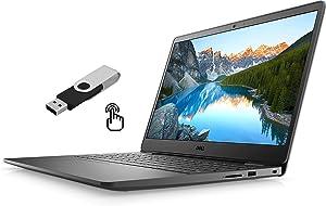 "2021 Dell Inspiron 3000 I3501 15.6"" FHD Touchscreen Business Laptop Intel 10th-Gen i5-1035G1 12GB DDR4 256GB NVMe SSD Intel UHD HDMI Bluetooth Wi-Fi RJ-45 Windows 10 Pro w/ Ontrend 32GB USB"