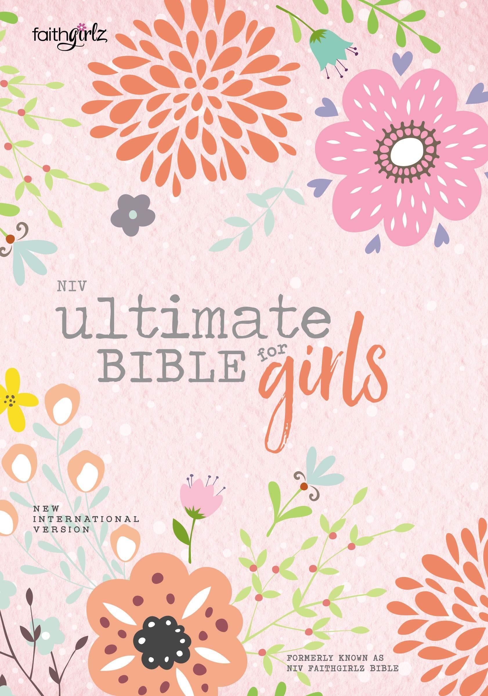 NIV, Ultimate Bible for Girls, Faithgirlz Edition, Hardcover