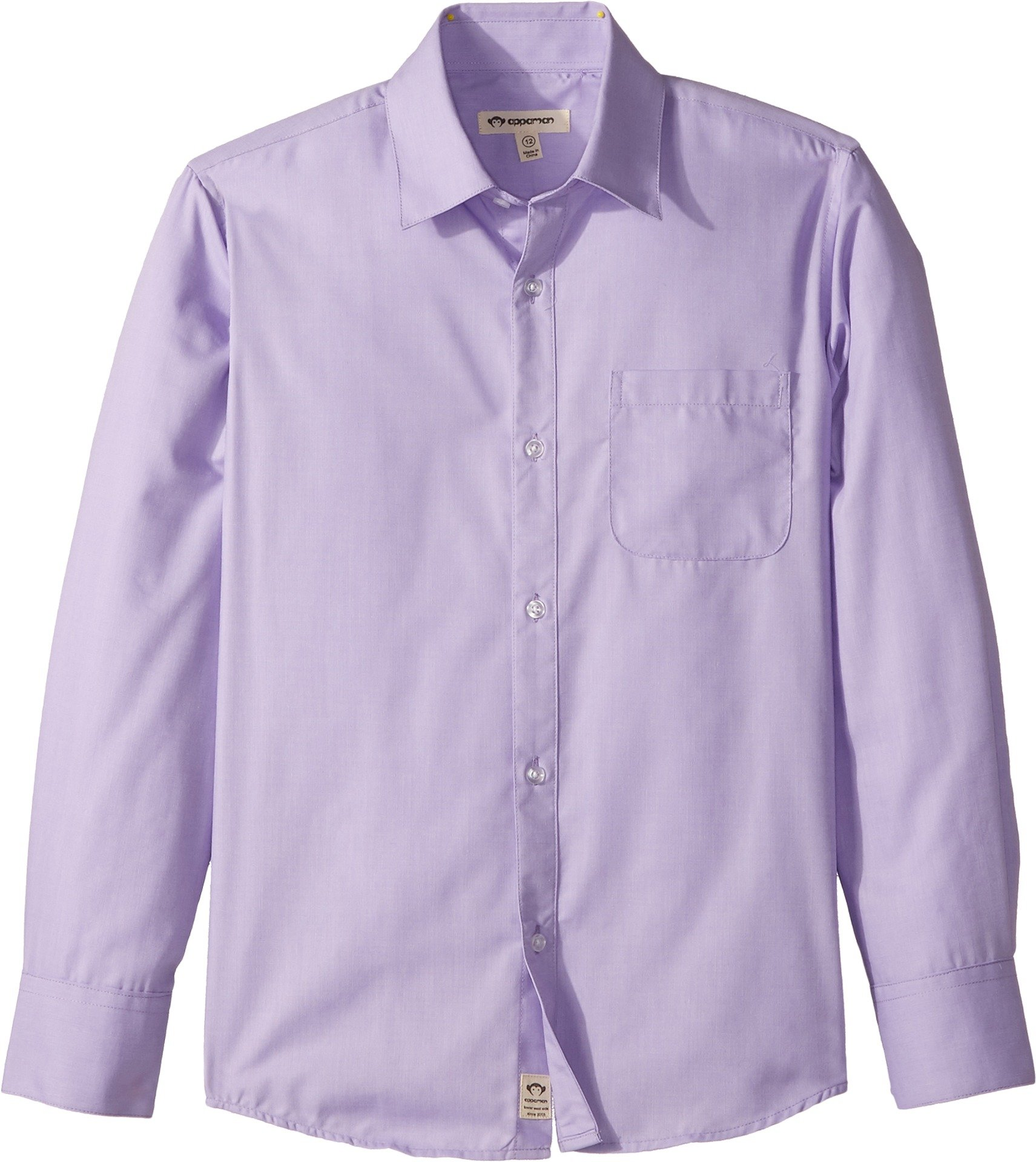 Appaman Boys' Little Standard Shirt, Novelty Lavender 7
