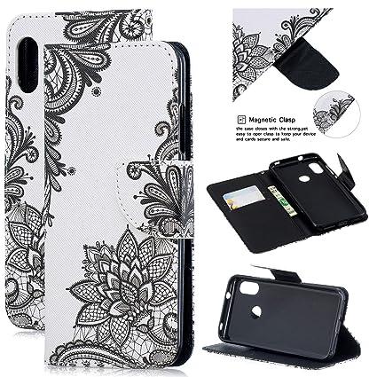 Amazon com : Gostyle Leather Wallet Case for Xiaomi Redmi 6