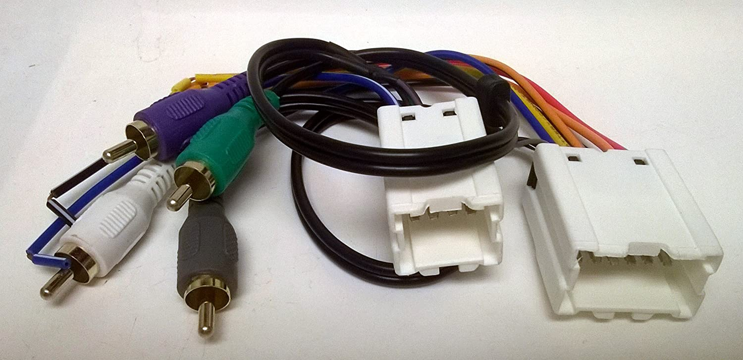 Amazon.com: Wire Harness for Installing a New Radio into a Nissan,  Pathfinder, 1998, 1999, 2000, 2001, 2002. Replace The Factory Bose or  Premium Amplified System: Car ElectronicsAmazon.com