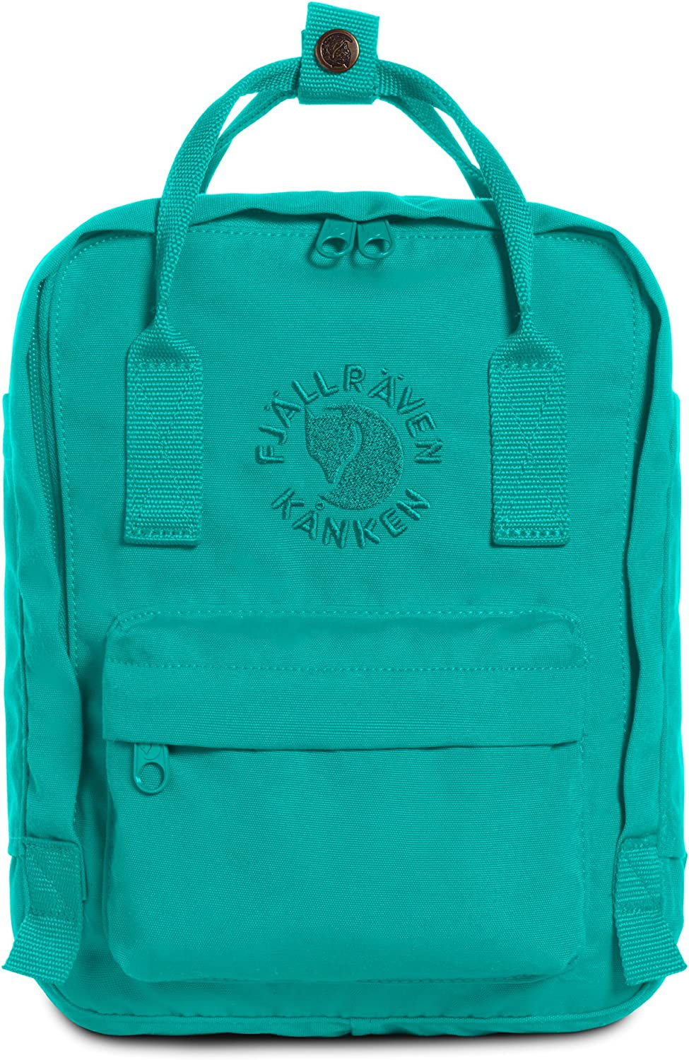 Fjallraven, Kanken, Re-Kanken Mini Recycled Backpack for Everyday Use, Heritage and Responsibility Since 1960