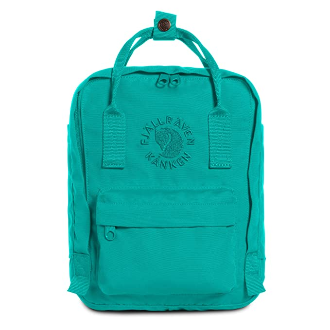 Fjallraven - Kanken, Re-Kanken Mini Recycled Backpack for Everyday Use, Heritage and Responsibility Since 1960